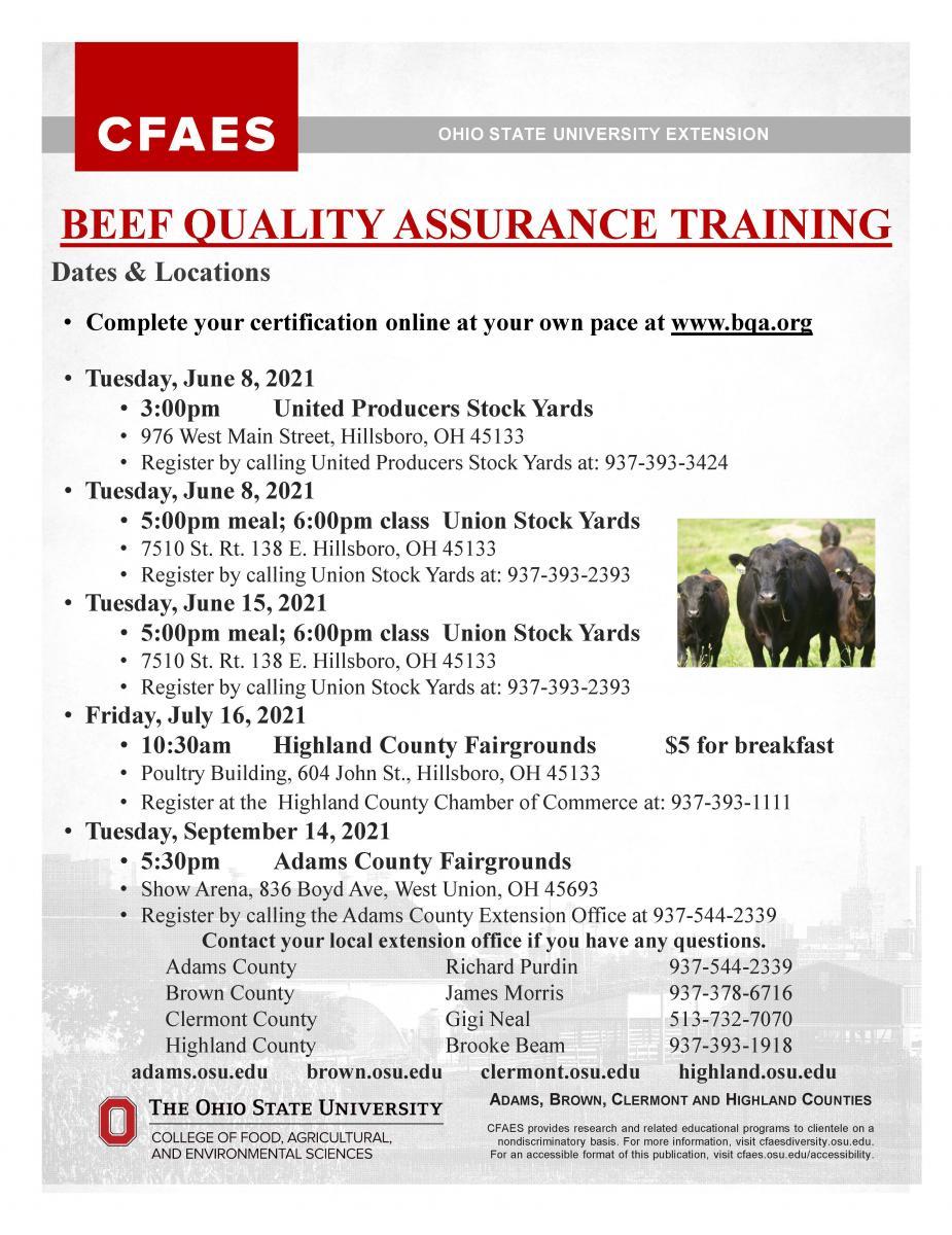 BQA Training