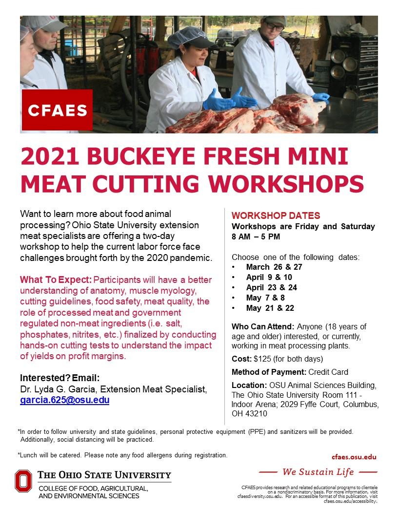 Meat Cutting Workshops