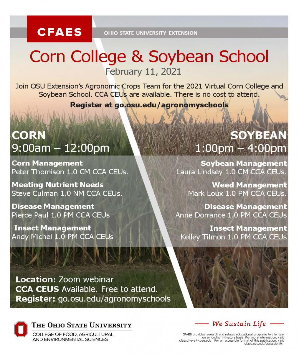 Corn College & Soybean School